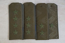 Russian Army set of Shoulder straps Olive camouflage General hand embroidery