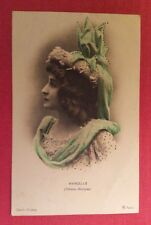 CPA. Actrice MARCELLE. Théâtre Marignan. Cliché Walery. 1904.