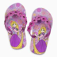 Disney Store Tangled Princess Rapunzel Flip Flop Sandals 7/8 9/10 11/12 13/1 2/3