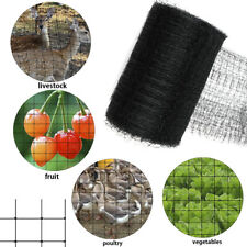 Black Anti Bird Protective Mesh Net Garden Plants Network Mesh Protect Net