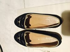 Charlotte Olympia Kitty Cat Loafers Kids Girls Shoes Sz32 $365