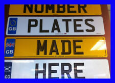VW Genuine OEM Car Number Plates & Surrounds
