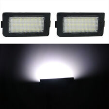 2pcs Error Free LED Number License Plate White Lamp Light For BMW E38 1995-2001