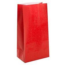 Emballages et paquets cadeaux rouges pour baptême