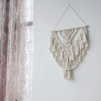 Wall Hanging Ornament Cotton Rope Tassel Tapestry Living Room Bedside Decoration