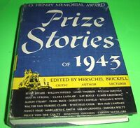 Prize Stories Of 1943 Edited Herschel Brickell Book Club Edition Hardcover