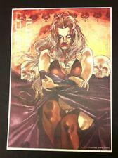 Marco Turini stampa 42x30 firmata Lady Death