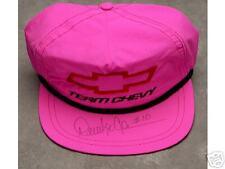 DERRICKE COPE TEAM CHEVY AUTOGRAPHED BASEBALL CAP