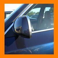 BMW CHROME SIDE MIRROR TRIM MOLDING 2PC W/5YR WRNTY+FREE INTERIOR PC 1