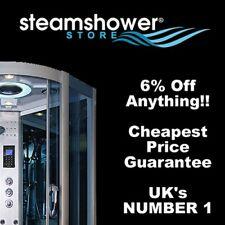 6% off Voucher steam showers hydro & whirlpool baths at Steamhowerstore.co.uk