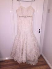 wedding dress size 14 used