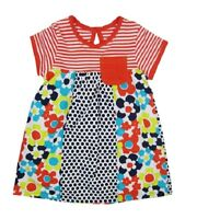 Baby Girls Patterned Dress Size 0-3,3-6,6-9,12-18,18-24 Months