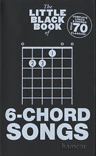 The Little Black Song Book of 6-Chord Songs by Music Sales Ltd Guitar Songbook