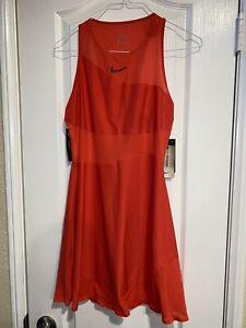 NEW Women's Nike Court Maria Sharapova Tennis Dress BV1066 644 SMALL $120