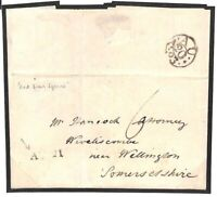 GB Cover EARLY SOMERSET DATESTAMP *AU.21* Wellington 1793 London Letter BD123