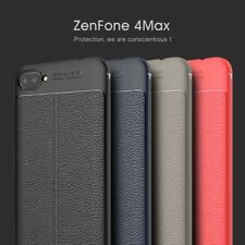 PU Leather Soft TPU Case Cover For Asus ZenFone 4 Max/Plus/Pro ZC554KL