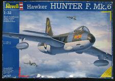 Revell 04727 - Hawker HUNTER F. Mk.6 - 1:32 -Flugzeug Modellbausatz Airplane Kit