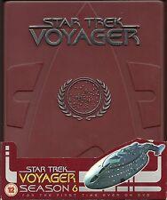 Star Trek Voyager Staffel 6 Hartbox mit DeutscherTonspur und Bandarole