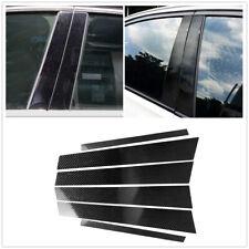 Window B Pillar Trim Cover Decoration Carbon Fiber for BMW 3 Series E90 05-12 AA