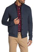 Original Penguin ,Knit Bomber Jacket,DARK SAPPHIRE,Size M