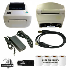Zebra LP2844 Printer Bundle With 1000 Labels, Power, USB, and More!