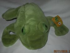 Frog Hand Puppet Gund Plush Stuffed Animal Toy Made for World Wildlife Fund