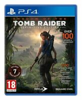 Shadow of the Tomb Raider - Definitive Edition For PS4 (New & Sealed)