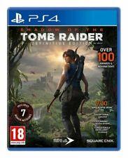 PS4-sombra del Tomb Raider-Edición Definitiva/PS4 Juego Nuevo