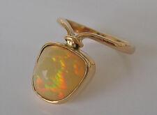 Wow✨Effekt✨ Opalringe in aus 14kt Gold Ring mit Opal Schmuck Opale Welo Vollopal