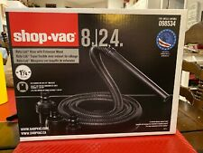 "SHOP VAC 1 1//4"" x 8 FT Hose fits standard & lock on inlets #90512"