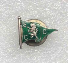 Rare Vintage pin PORTUGAL SPORING CLUB enamel butonhole