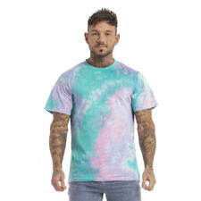 GINGTTO Summer Mens Short Sleeve Casual Tie Dye Shirt T-Shirt Camouflage Top Tee