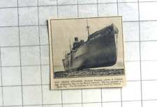 1935 Greek Steamer Michalis Poutous Ashore Lilstock Bristol Channel, 29 saved