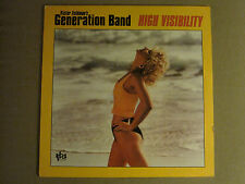 VICTOR FELDMAN'S GENERATION BAND HIGH VISIBILITY LP '86 TBA JAZZ FUNK FUSION M-