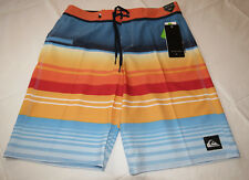 Quiksilver boardshorts 33 board swim shorts MKM6 Stripe Vee 21 33x21 Nasturticm