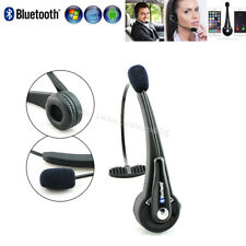 NEW Trucker Driver Over The Head Boom Wireless Bluetooth Headset Mic Avoid Noise