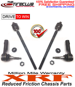 XRF Lifetime Inner and Outer Tie Rod Ends Kit 2005 - 2008 Ford F150 4x4