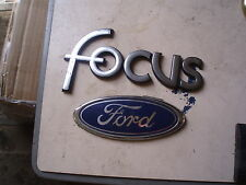 2000 FORD FOCUS BADGE EMBLEM, FAST DISPATCH CAR PART