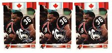 1X STEWART HILL 1992 All World CFL #135 AUTOGRAPH SIGNED Lots Available BC Lions