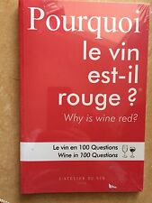 1 Buch: Pourquoi le vin est-il rouge? Why is wine red?, wie Originalbild