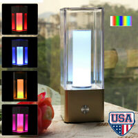 Touch RGB LED Table Lamp Desk Bedside Night Light Bedroom Nightstand Home Decor