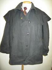 "Barbour Backhouse Stockman 3/4 Waxed Jacket-M 40"" Euro 48-50 in Bleu"