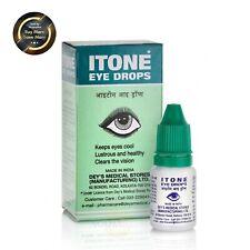 ITONE Eye Drops 4 X10ml Herbal Ayurvedic Antibiotic & Antiseptic Eye Drops New