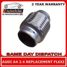 Audi A4 2.4 2002-2005 Exhaust Repair Flexi Flex Weld On Replacement for Cat Pipe