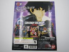 Anime Cowboy Bebop Hgif Series Gashapon Toy Vending Machine Paper Display Card