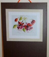 New Lanarte cross stitch kit  0008026 Fuchsia in watercolour