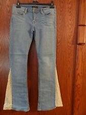 GENETIC DENIM THE GUSSET FEVER WOMANS SIZE 30 JEANS