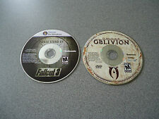 The Elder Scrolls IV Oblivion PC DVD-ROM 2006 & FREE Fallout 3 PC DVD-ROM 2008