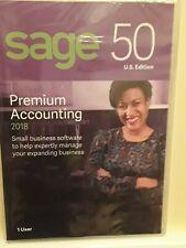2018 Sage 50 Premium Accounting