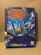 VINTAGE STAR WARS REBEL ASSAULT PC GAME BOX ONLY (2-94)